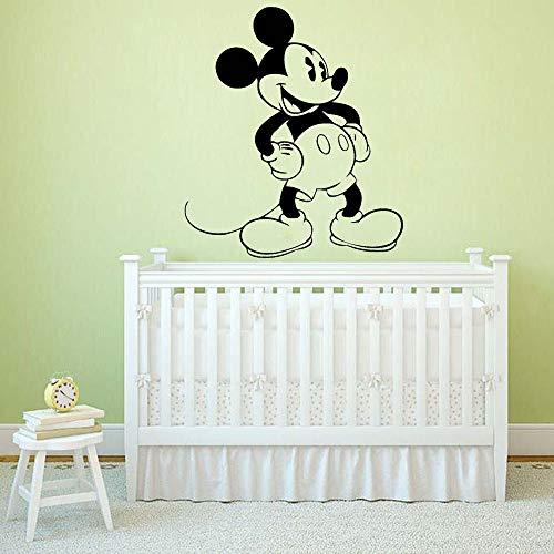 Kindergarten cartoon animal mouse decoración del hogar arte pegatinas de pared sala de estar pegatinas de pared mural pegatinas para puertas y ventanas
