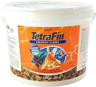 Tetra TetraFin Goldfish Flakes, 4.52Pound - 16621