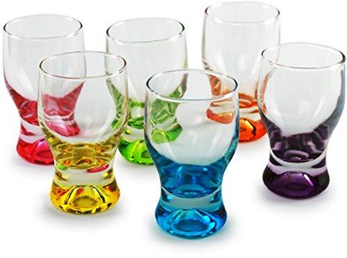 Colorful Shot Glasses