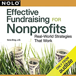 Effective Fundraising for Nonprofits audiobook cover art