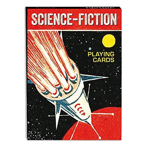 """Piatnik 1659""""Ciencia Ficción Juego de Cartas (55-Piece)"""