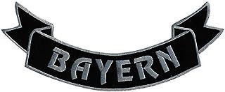 Rückenaufnäher  BAYERN   07360   Gr. ca. 29 x 10 cm   Patches Stick Applikation