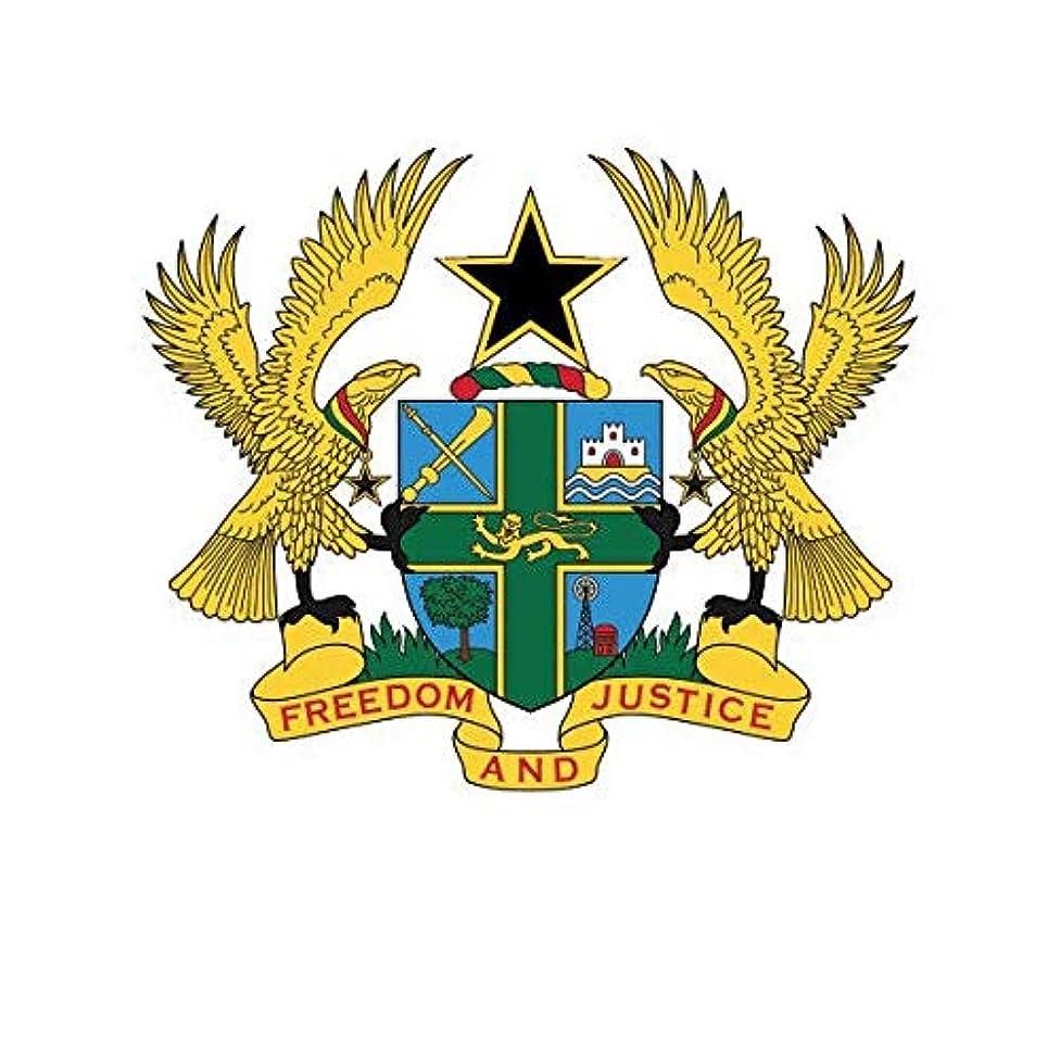 ION Graphics Ghanaian Coat of Arms Sticker Decal Vinyl Ghana Flag GHA GH 5