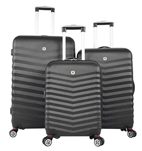 Wenger Juego de maletas, negro (Negro) - 2044371