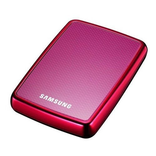 Samsung HXMU032DA/G72 S2 portable 320GB externe Festplatte (6,4 cm (2,5 Zoll), USB 2.0) pink