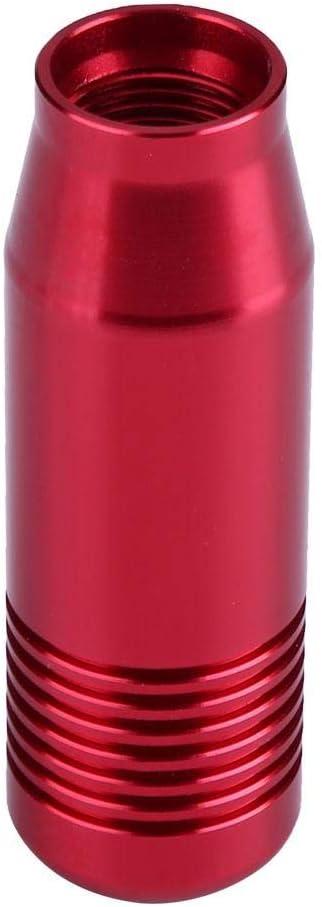 Blu Pomello del cambio , 8,5 cm Manopola del cambio manuale per auto in lega di alluminio Maniglia del cambio