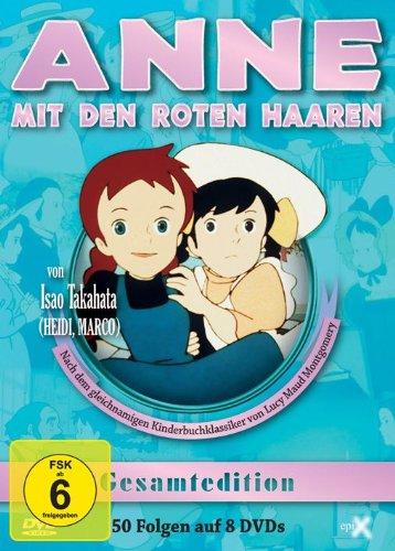 Anne mit den roten Haaren - Gesamtedition (8 DVDs)