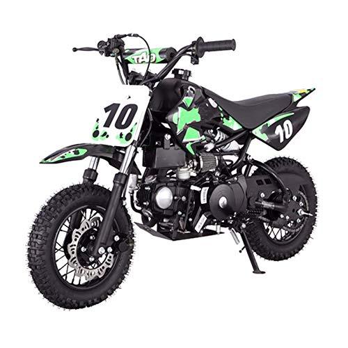 X-PRO 110cc Dirt Bike Pit Bike Youth Dirt Pit Bike 110 Dirt Pitbike,Green