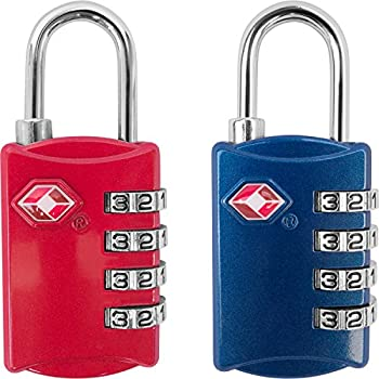 TSA Approved Travel Combination Cable Luggage Locks