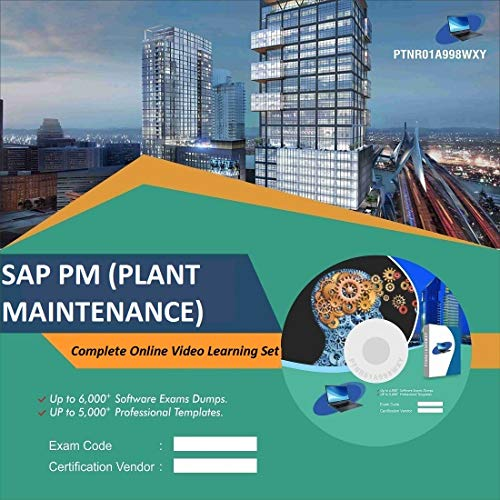 SAP PM (PLANT MAINTENANCE) Complete Video Learning Solution Set (DVD)
