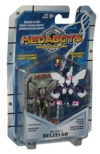 MEDABOTS - BELZELGA FIGURE (DUL-42212-2) Includes poster, game card & die! (2001)