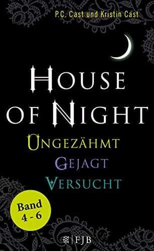 »House of Night« Paket 2 (Band 4-6): Ungezähmt / Gejagt / Versucht (German Edition)