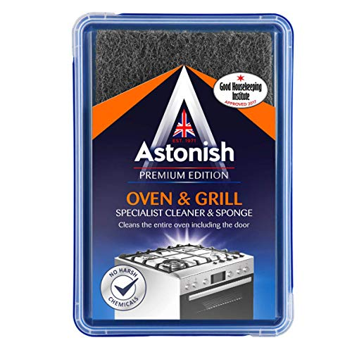 Astonish Oven and Grill Specialist Cleaner Paste with Sponge