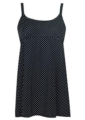 Tankini White Dots Cup C, Farbe schwarz, Größe 52