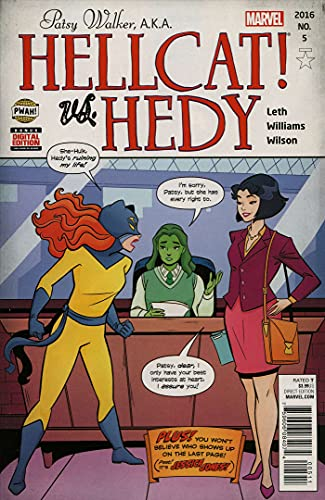 Patsy Walker, A.K.A. Hellcat! #5 VF/NM ; Marvel comic book