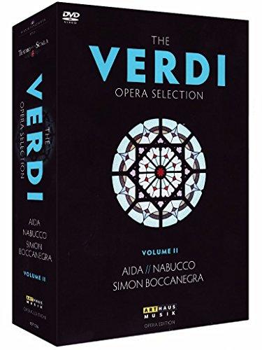 The Verdi Opera Selection II: Aida / Nabucco / Simon Boccanegra [4 DVDs]