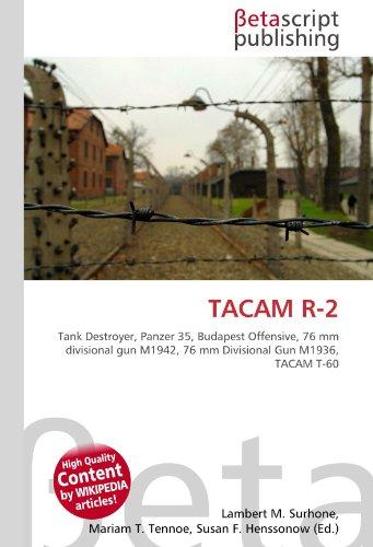 TACAM R-2: Tank Destroyer, Panzer 35, Budapest Offensive, 76 mm divisional gun M1942, 76 mm Divisional Gun M1936, TACAM T-60