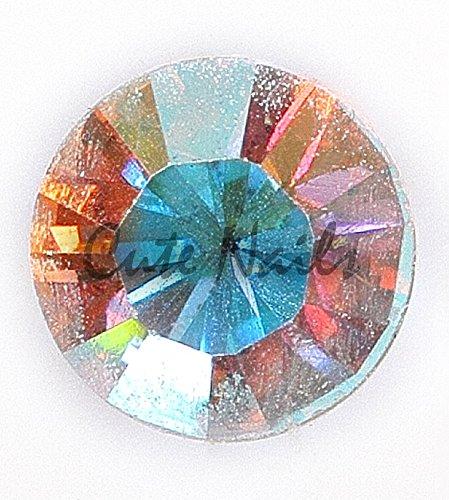 Zahnschmuck – 50 Swarovski Kristalle - Crystal irisierend SS6 foiled ca. 2,0 mm AURORE BOREALE AB – CUTE NAILS