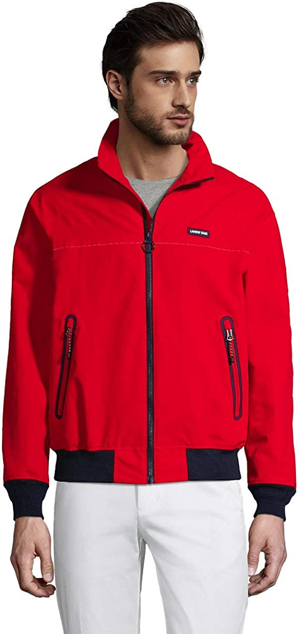 Lands' End Men's Lightweight Classic Squall Jacket