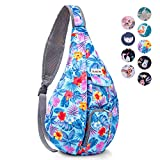 Sling Bag for Women, Water Resistant Sling Backpack Lightweight Crossbody Backpack