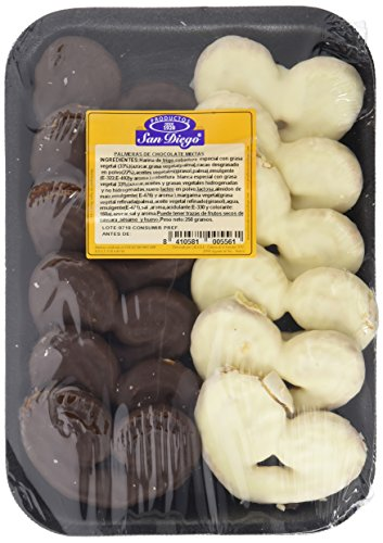 Productos San Diego Palmeras Choco Mixtas - Paquete de 10 x 250 gr - Total: 2500 gr