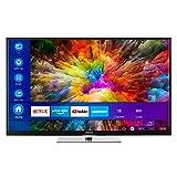 Eleganter UHD Smart-TV mit HDR10, Dolby Vision, integrierten Subwoofer, CI+, WLAN, Bluetooth, PVR ready, Mediaplayer, HbbTV, Netflix, Amazon Prime Video und weiteren Smart-TV-Diensten. Wie im Kino: Mit Dolby VisionTM erstrahlen Ihre Filme und Serien ...