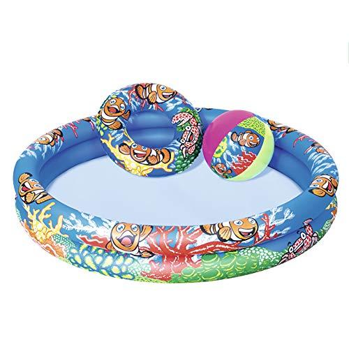 AURALLL Swim Centro Familiar Piscina Easy Set Piscina (122x20cm)