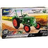 Deutz D30 Traktor Gruen 07821 Bausatz Kit 1/24 Revell Modell Traktor mit individiuellem...