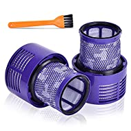 🧼🧼【 High Performance 】 This Filter is 99.97% effective in removing all dust and dirt from your home. Made of high strength and eco-friendly material. Have a filter in hand, save your Dyson cordless vacuum suffering from clogged and dirty filter. 🧼🧼【...