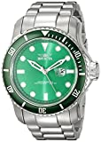 Invicta 20096 Pro Diver Reloj para Hombre acero inoxidable Cuarzo Esfera verde
