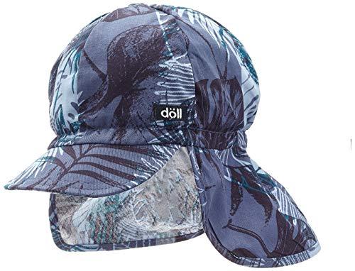 Döll Jungen Baseballmütze mit Nackenschutz Kappe, Blau (Ensign Blue 3890), (Herstellergröße: 53)