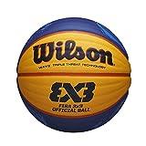 ウイルソン(ウイルソン) FIBA 3X3公式ゲームバスケットボール2020-21 WTB0533XB2020 (イエロー×ブルー/FF/Men's、Lady's)