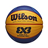 Wilson Pelota de Baloncesto Fiba 3X3 Official Game Ball 2020 WT, Tamaño:...