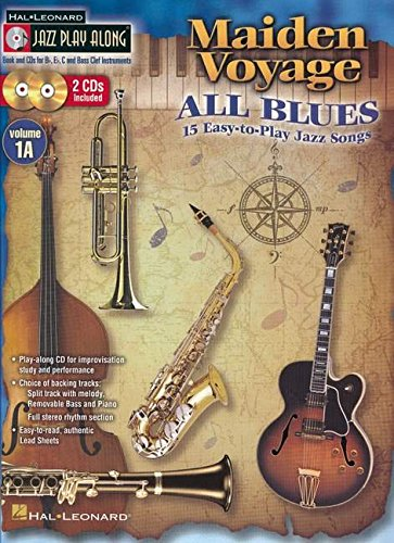 Jazz Play-Along Volume 1A: Maiden Voyage/All Blues: Play-Along, CD (2) für Instrument(e) in c