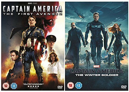 Captain America 1-2 DVD Collection - Captain America: The First Avenger / Captain America: The Winter Soldier