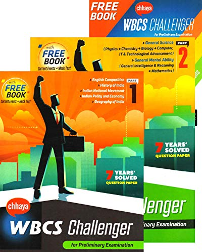 Chhaya WBCS Challenger for Preliminary Examination Part I and Part II with a Free Book - Bengali