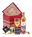 Ducs de Gascogne - Coffret gourmand 'Trésor' - comprend 5 produits dont une spécialité au foie gras et un vin blanc moelleux - spécial cadeau (946514)