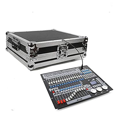 1024 Channels DMX Controller, Stage Lighting Console, DMX512 Led Disco Light Controller Console for DJ Disco, Party DJ Equipment