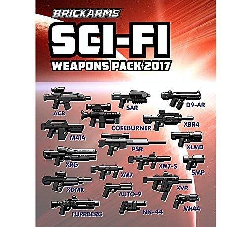 Brickarms Sci-Fi Pack 2017 für eure LEGO Figuren egal ob für Star Wars Space oder Polizei