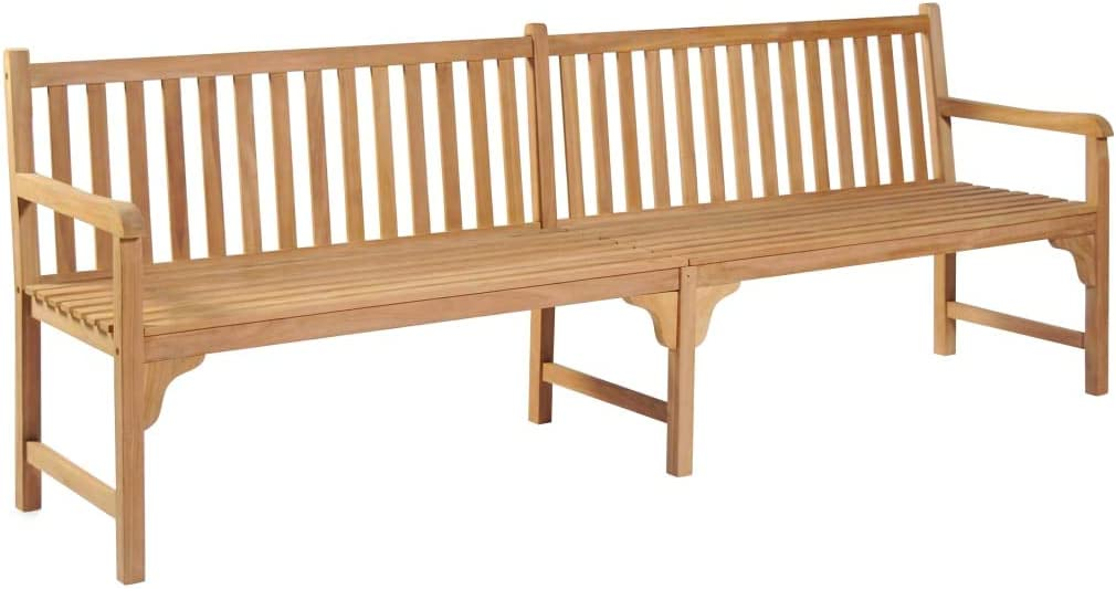 Wood Bench,Garden Bench Outdoor Garden Large special Manufacturer regenerated product price Sea - Decor Patio