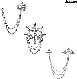 vintage navy anchor pin