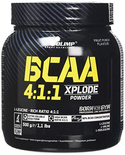 Olimp Labs BCAA 4:1:1 Xplode Powder, Fruit punch Flavour, 500 g