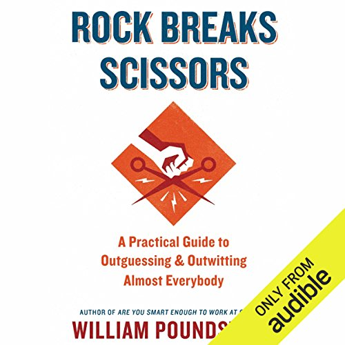 Rock Breaks Scissors audiobook cover art