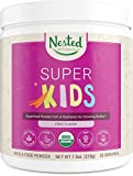 Nested Naturals Super Kids | 100% USDA Organic Vegan Superfood Powder for Kids | 30 Servings of Greens, Veggies, Fruits, Seeds | Natural Fruit Flavor | Non-GMO, Gluten-Free Plant-Based Nutrition