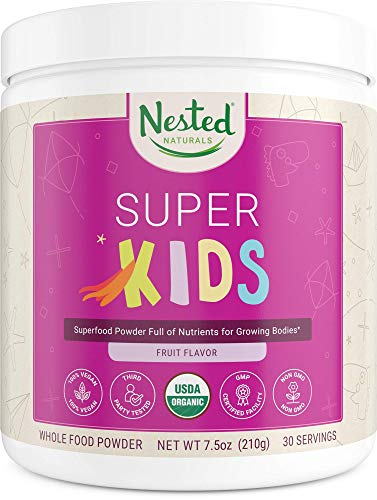 (40% OFF) Nested Naturals Super Kids Superfood Powder $11.97 – Coupon Code
