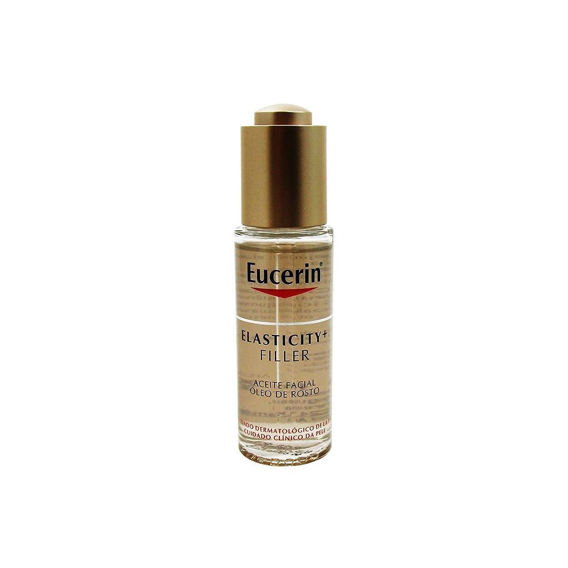 移行する平らにする振りかけるEucerin Elasticity Filler Facial Oil 30ml [並行輸入品]