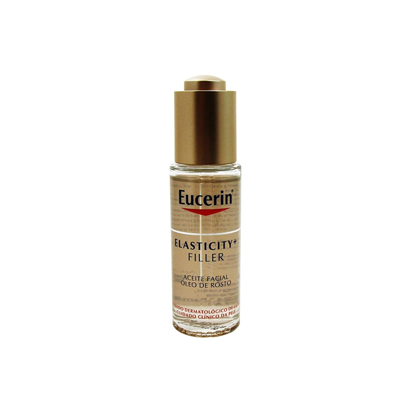 表現現像種Eucerin Elasticity Filler Facial Oil 30ml [並行輸入品]