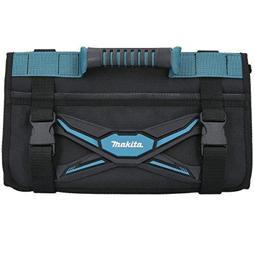 Makita E-05533 E-05533-Bolsa para herramientas con asa y bolsillo delantero, color azul