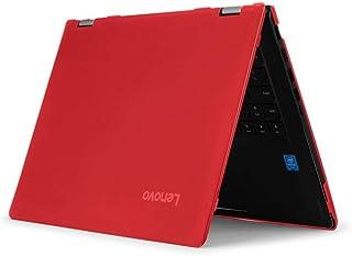 mCover Hartschalen Schutzhülle für Lenovo IdeaPad Flex 5 14ARE05 / 14IIL05 / 81X1 / 81X2 Serie Convertible Laptop (Größe: 32,1 x 21,7 x 2,05 cm) Rot