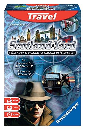 Ravensburger Italy 234165–Scotland Yard Travel, Mehrfarbig